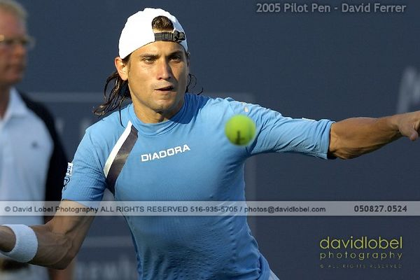 2005 Pilot Pen - David Ferrer [ESP]