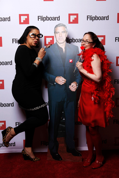 Walking the Red Carpet at Alt Winter 2013 with Davon, The Bubbleista