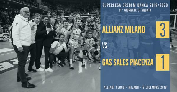 11^ And: Allianz Milano - Gas Sales Piacenza