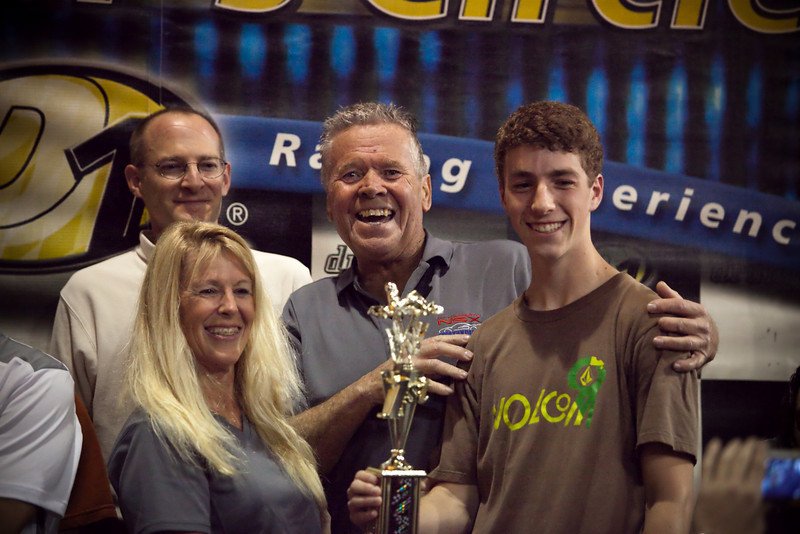 Team tbNSX with their 1st place trophy