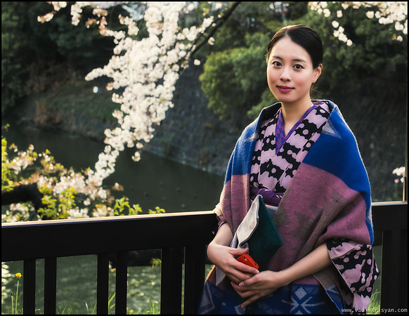 Y. in Kimono, Tokyo,2014