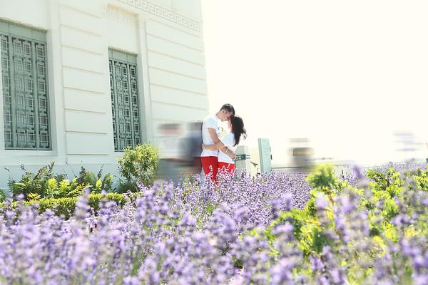 Krisx + Jacque | Griffith Park Love Story