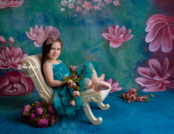 Lia, age 4  /  Stylized Session