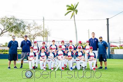 2018 Middle School Baseball
