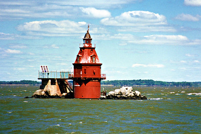 Ship John Shoal Light, New Jersey