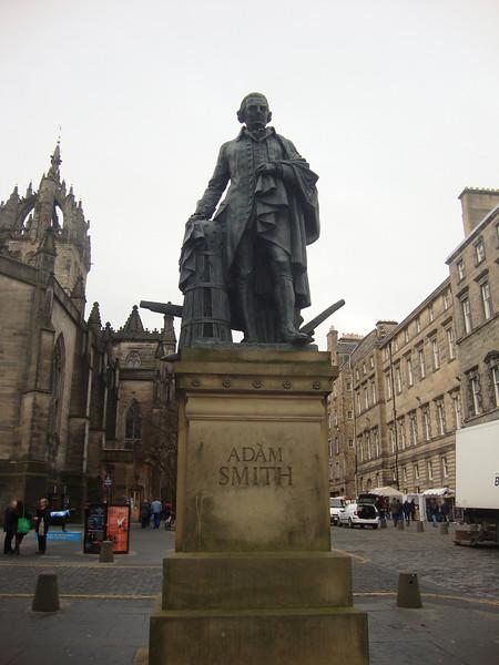Adam Smith in Edinburgh