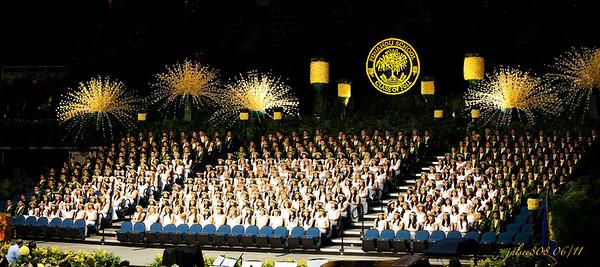 Punahou HS 2011 Graduation 06/04/11