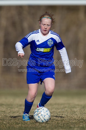 U12 CUFC Green G vs TCYSA Lady Twins White G 1/26/2014