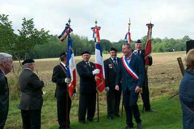 Cugny, France 70 yr Commemoration