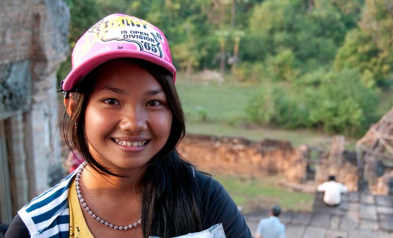 Bookseller, Siem Reap, Cambodia