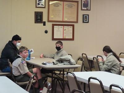 Troop Meeting - Nov 9