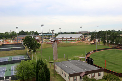 Football Stadium by Amy