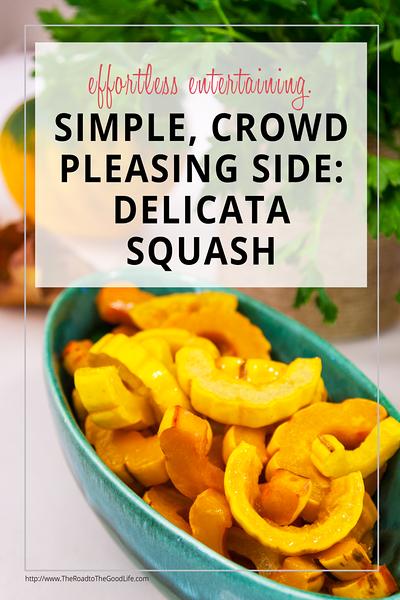 Simple, Crowd-Pleasing Side: Delicata Squash