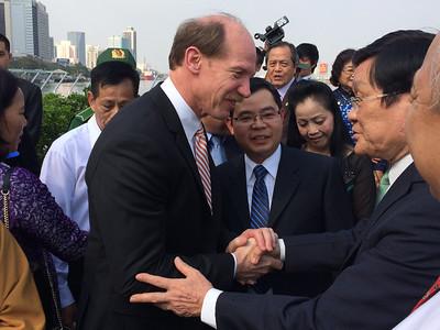 Dr. Vo in Vietnam