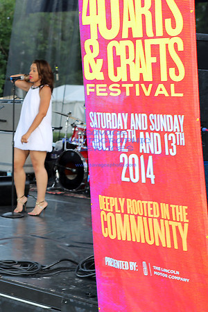 DuSable 40th Annual Arts & Crafts Festival Sunday 7-13-14