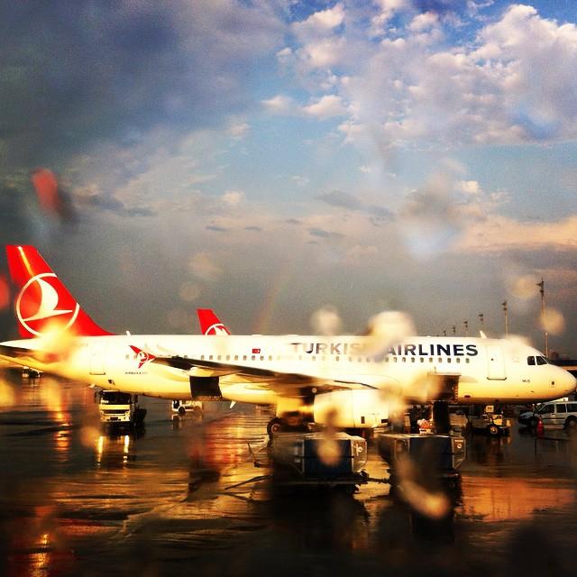 istanbul ataturk airport rainbow turkish airlines