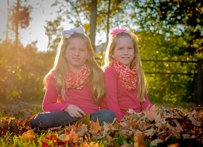 Kaden and Kayla Fall Pictures