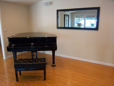 Process of selling my old home, moving piano to friends' house