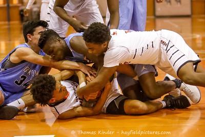 Boys JV Basketball v Yorktown 12/4/18