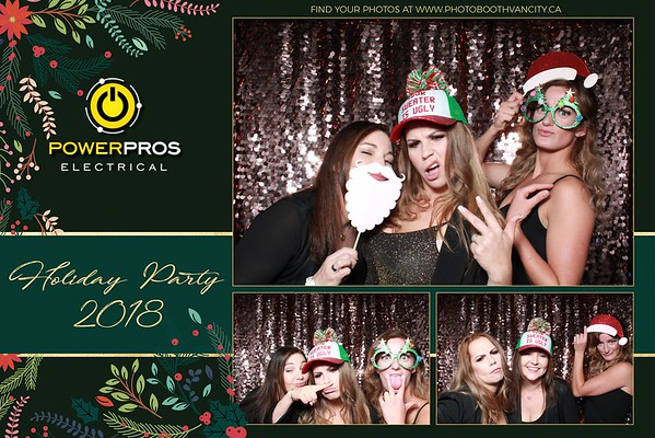 Power Pros Electrical - Holiday Party 2018