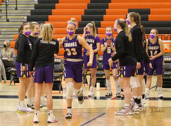 Chaska HS Girls Basketball vs. Stillwater  3-30-21