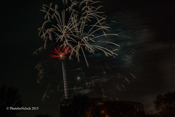 Glendale July 2nd Fireworks 2015