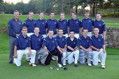 2013.09.30 Medway HS Golf Team