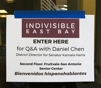 Jun 10: Indivisible EB Q&A with Daniel Chen (Sen. Harris office)