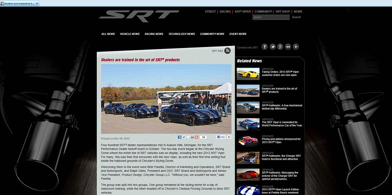 drivesrt.com website