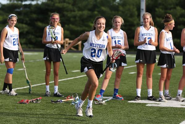 Western girls lacrosse falls to LV 2014