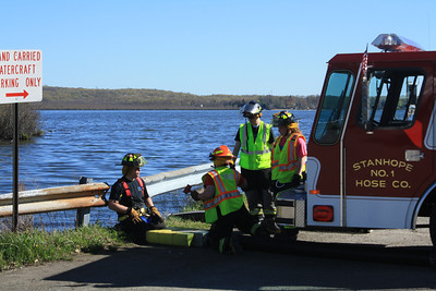 Budd Lake Fire Department Conducts Tender Drill