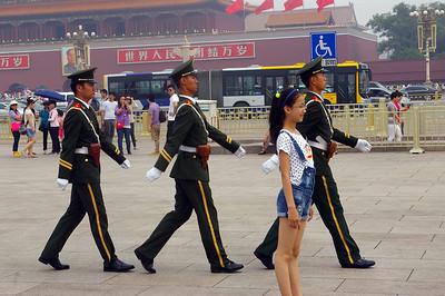 china, 2014,  around Beijing and also Daytime and night in Shanghai