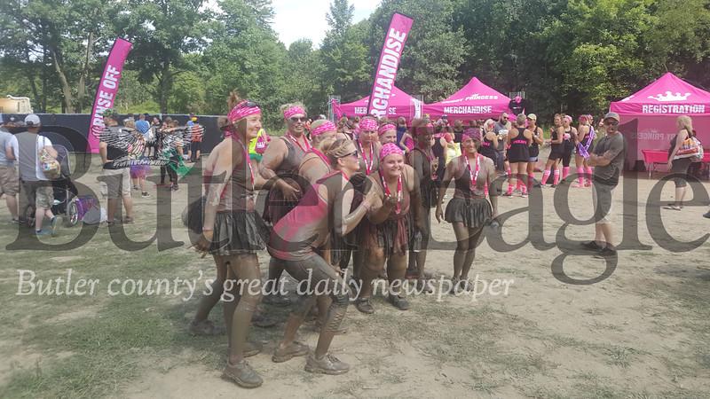 Muddy Princess event 2018 Group Shot
