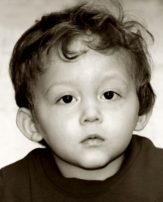 One and a half year old NATHAN ZWART, future President of the USA.