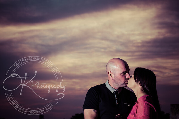 Kirsty & Stevens Pre Wedding Photo Shoot