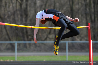 Jonesville vs Athens Track & Field