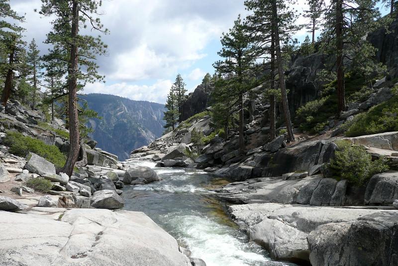 Above Upper Yosemite Fall. Yosemite Falls Trail, Yosemite NP