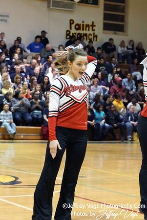 01-07-2012 Blair HS Poms Competition at Damascus HS, Photos by Jeffrey Vogt Photography