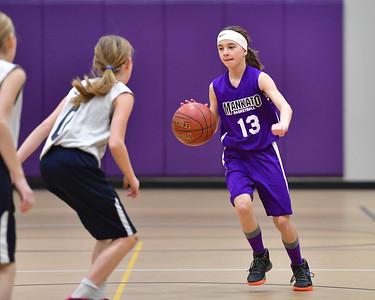 6th Grade Girls Basketball Spring 2018