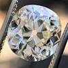 3.07ct Antique Cushion Cut Diamond GIA M VS2 8