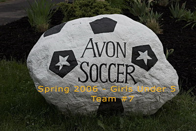 Avon Girls U5 Soccer - Team 7