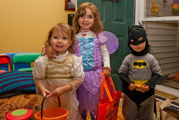 Halloween Hay Ride Crew