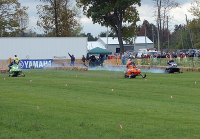 Ontario County Snowmobile Show and Grass Drags