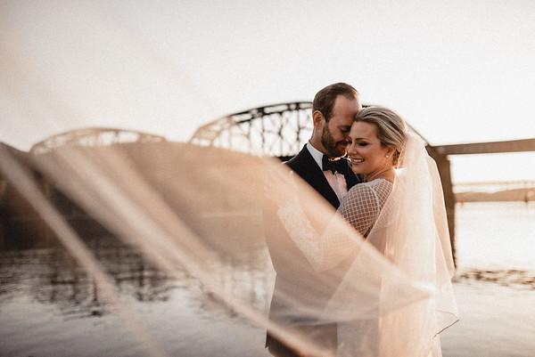 Ashleigh + Andy Luxury Riverfront Wedding