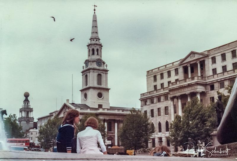Trafalgar Square, London UK