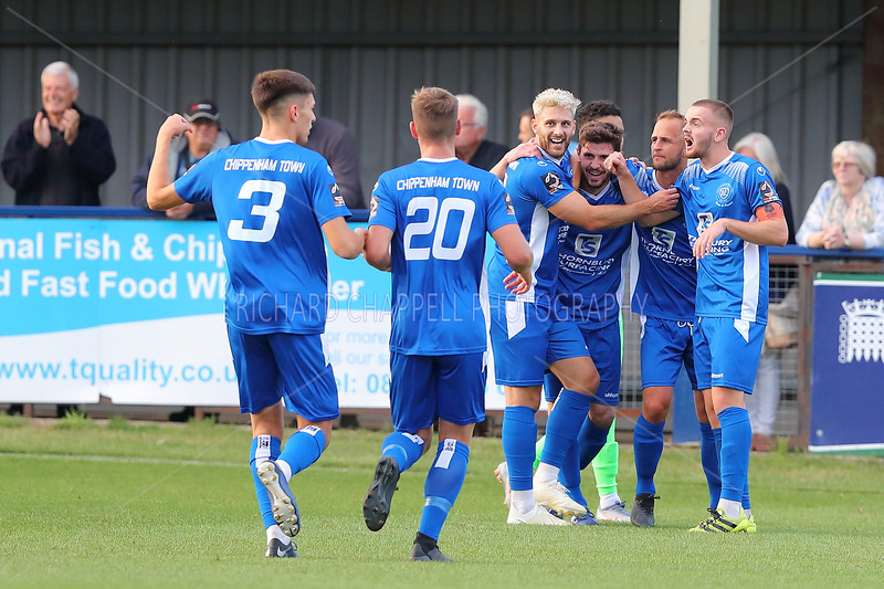 CHIPPENHAM TOWN V OXFORD CITY MATCH PICTURES 6th AUGUST 2019