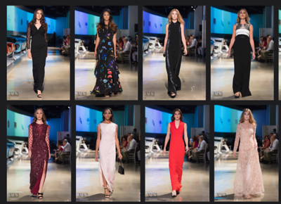 Escada Runway -  Cars and Fashion STEP