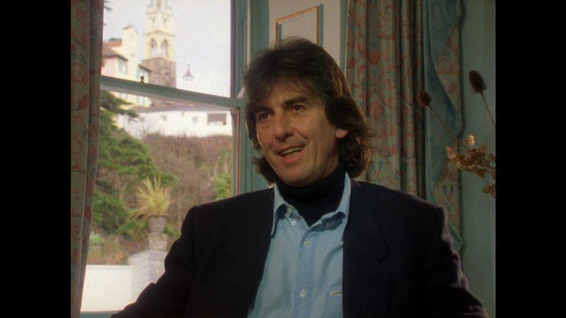 . George Harrison. Photo credit: ©Apple Films Ltd.