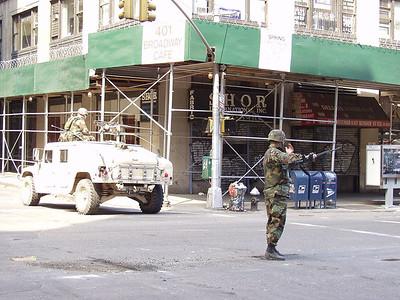 New York - 12-Sept-2001 to 19-Sept-2001