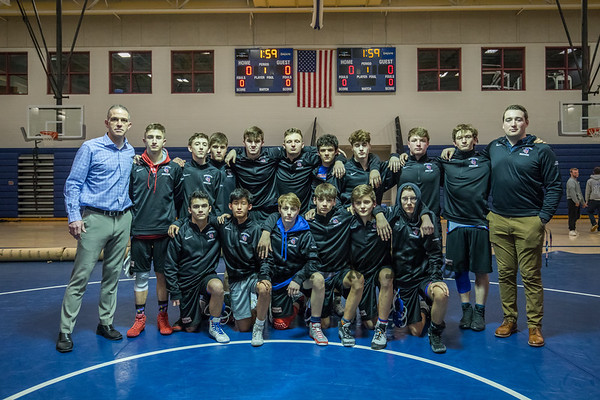 2020-2-12 WHS Wrestling vs Souhegan HS